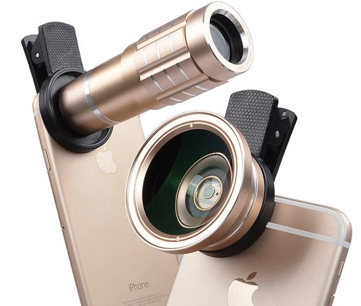 ¿Fan de la fotografía? Convierte a tu smartphone en una cámara profesional con estos gadgets