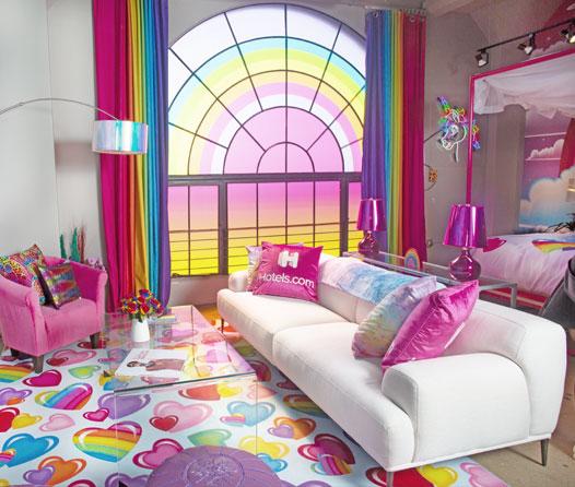 Esta suite es como la habitación que siempre soñaste cuando eras niña