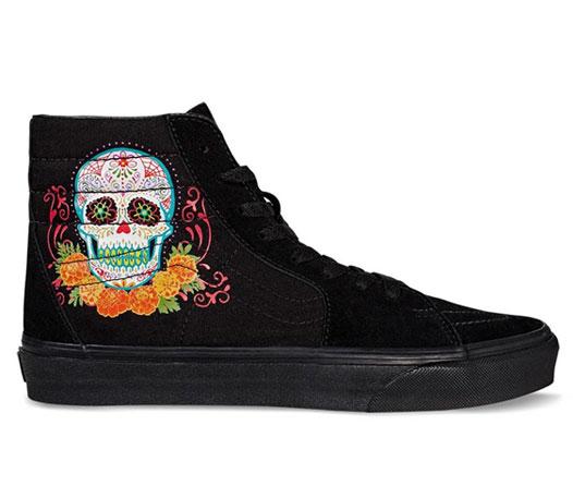 Vans presenta colección inspirada en el Día de Muertos
