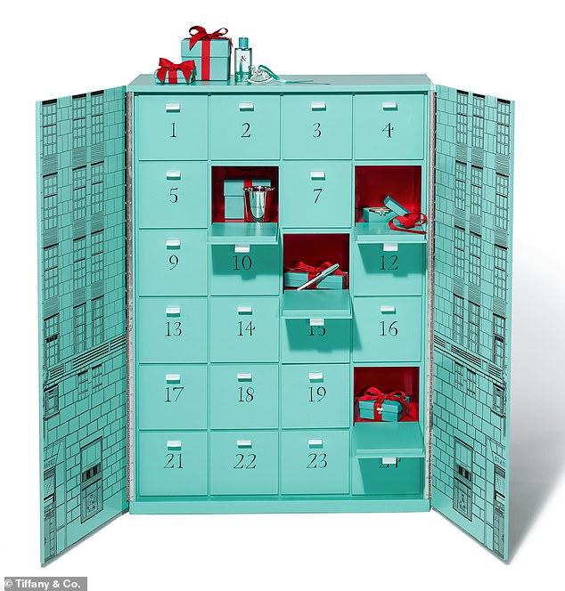 El calendario de Tiffany es la joya que querrás tener esta Navidad