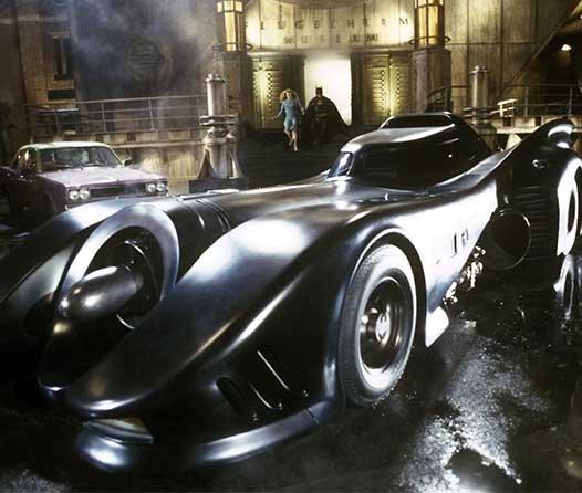 Así se ve el Batimóvil de 'Batman' de Tim Burton recreado por LEGO