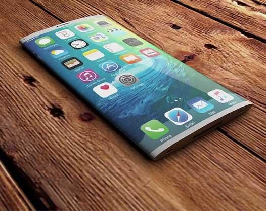 ¿Las pantallas de los próximos iPhone serán curvas?