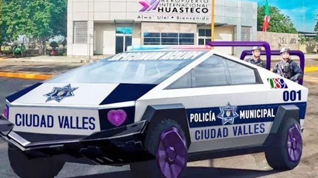 Alcalde de México compró 15 Cybertruck de Tesla para usarlas de patrulla