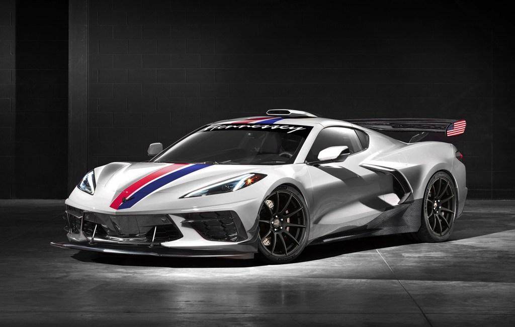 Hennessey ofrecerá una versión de 1200 caballos de fuerza del Corvette C8