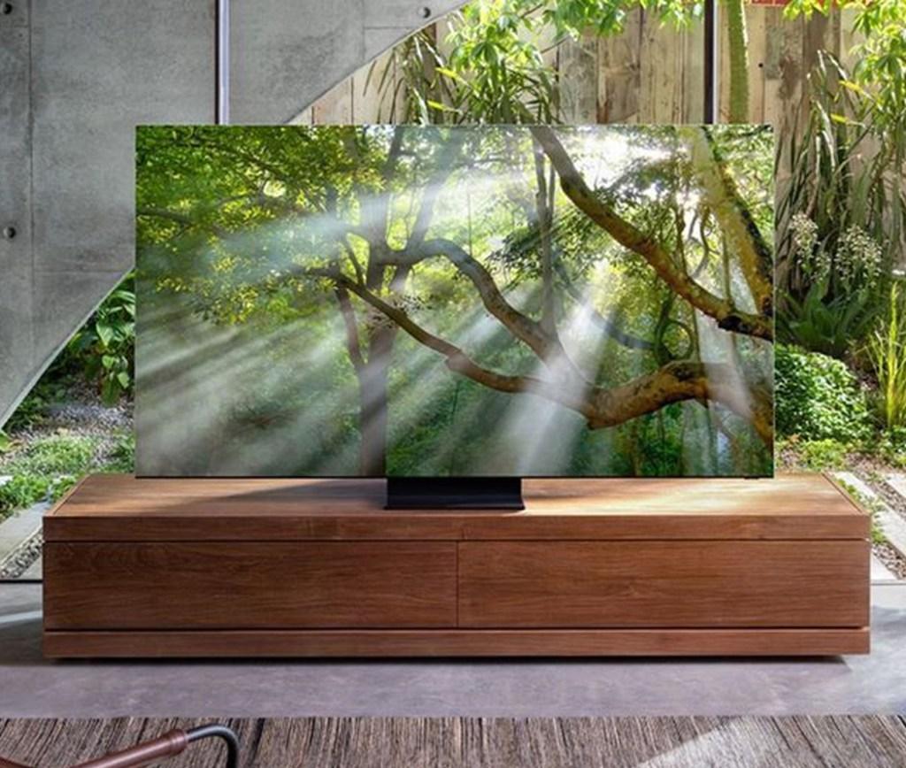 ¿Una televisión sin bordes? Samsung la tiene y es 8K