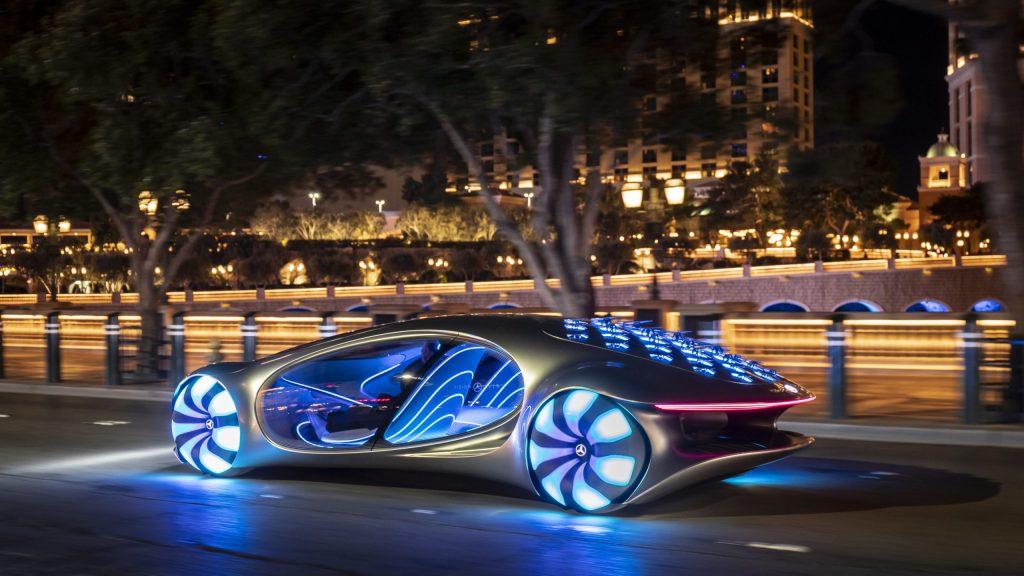 Mercedes-Benz acaba de presentar un auto inspirado en 'Avatar'