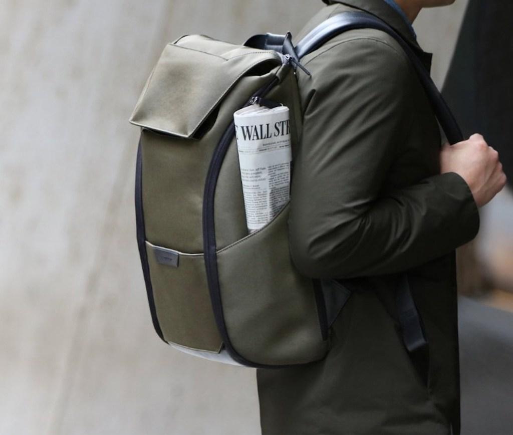 Esta elegante mochila para la oficina también es perfecta todos tus viajes