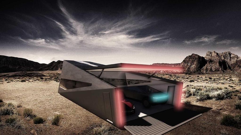 El Cybertruck de Tesla acaba de conseguir su propio garaje, el Cybunker