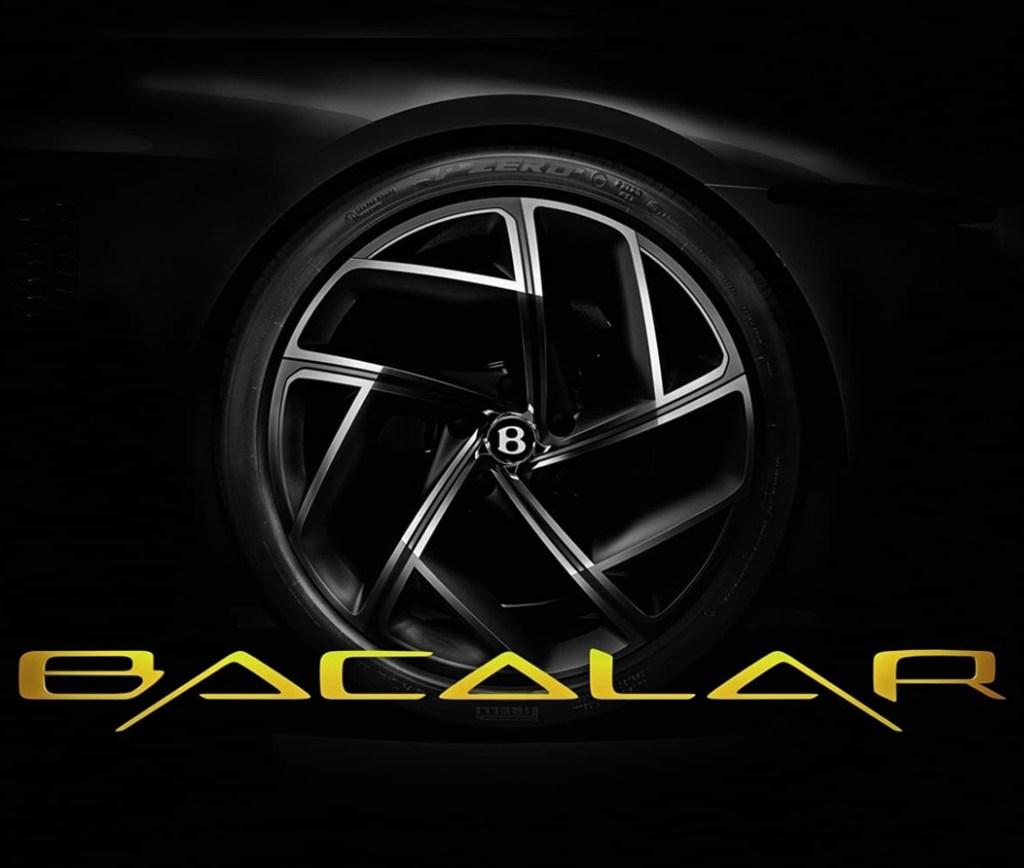 Bacalar, el próximo nombre mexicano del nuevo superlujoso de Bentley