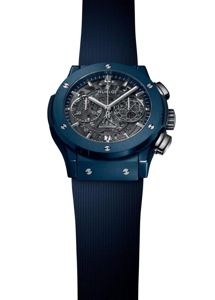 Te mostramos la edición limitada del reloj Hublot de la Champions League