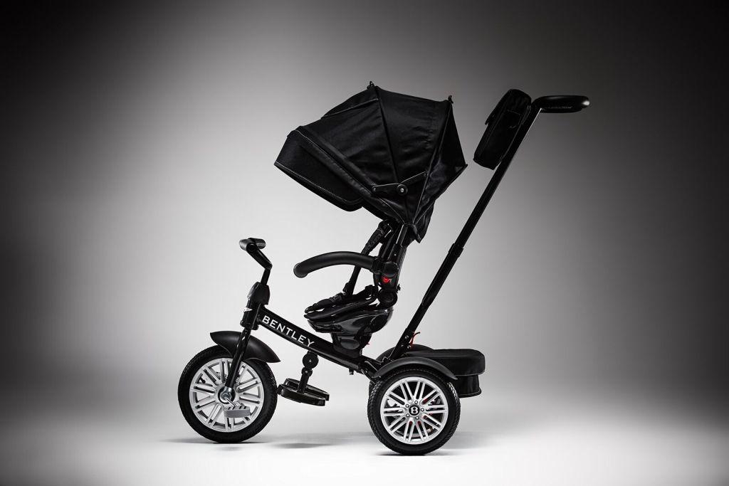 El triciclo convertible de Bentley, para quien es elegante desde pequeño