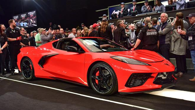 El primer Corvette C8 2020 subastado por 3 millones de dólares