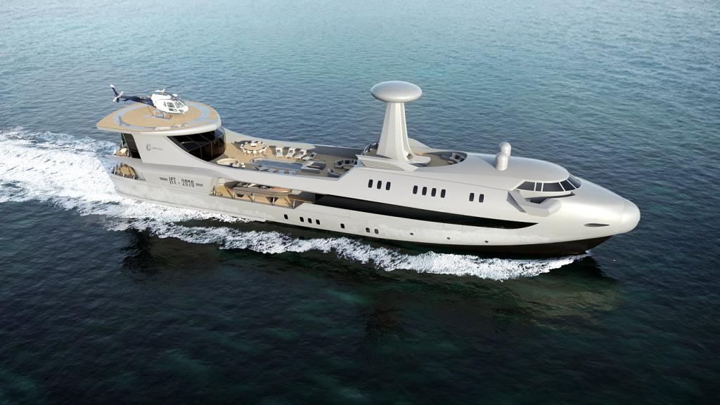 Codecasa Jet 2020, el avión que surcará los mares