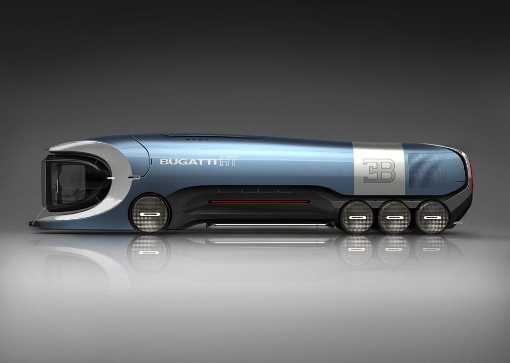 Así luciría un camión Bugatti, pero, ¿qué tanto correría?