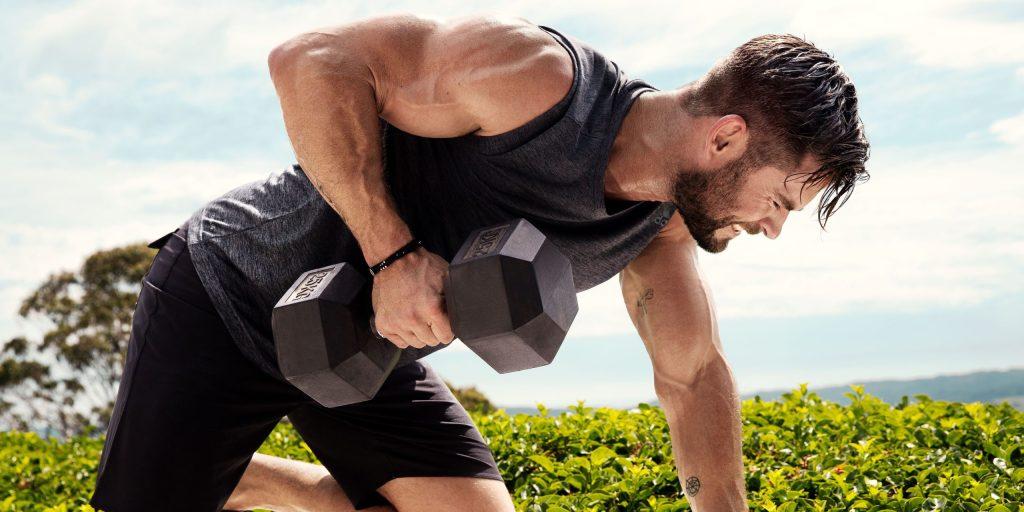 El entrenamiento de Chris Hemsworth que te dejará como Thor