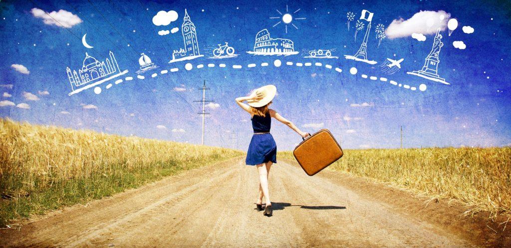 Cómo viajan las mujeres que deciden recorrer el mundo