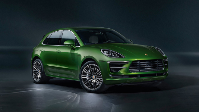 Porsche Macan Turbo 2022