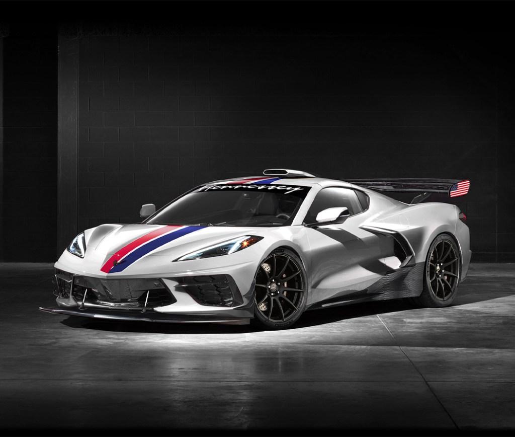 ¿Un Corvette C8 con 1200 caballos de fuerza? Hennessy lo hace posible