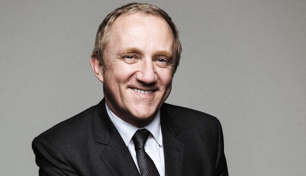 François-Henri Pinault, presidente del grupo Kering, reduce su salario