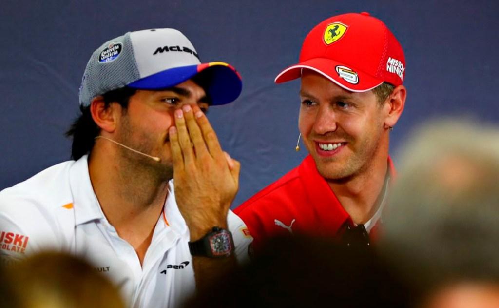Carlos Sainz a Ferrari, Ricciardo a McLaren, un asiento libre en Renault, y el posible regreso de Fernando Alonso a F1