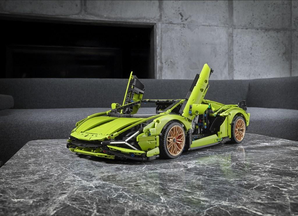 El Sián de Lamborghini ya puede ser tuyo gracias a LEGO
