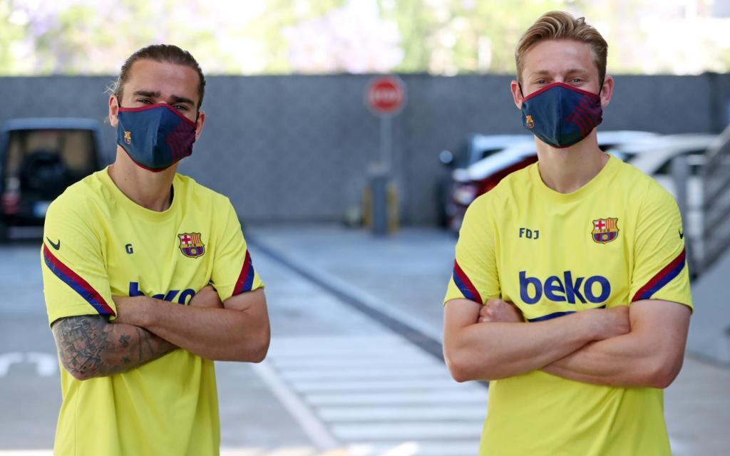 Las mascarillas del Barcelona y otros modelos para amantes de los deportes