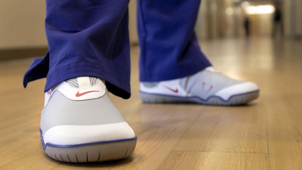 ¿Sabías que hay unos Nike especiales para doctores? Así es y, ¡serán donados!