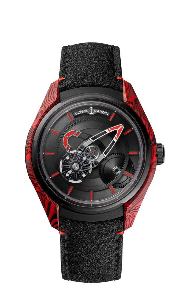 Ulysse Nardin ha presentado un nuevo reloj inspirado en el poder volcánico