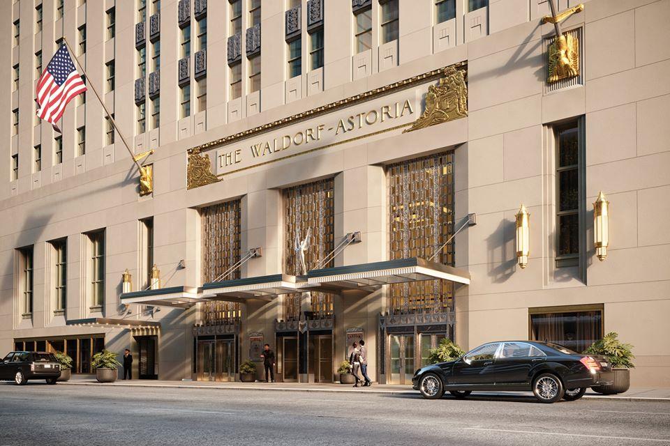 Waldorf Astoria y sus  departamentos de lujo en la Gran Manzana