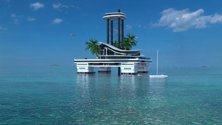 Kokomo Ailand, así es como puedes personalizar tu yate-isla de lujo