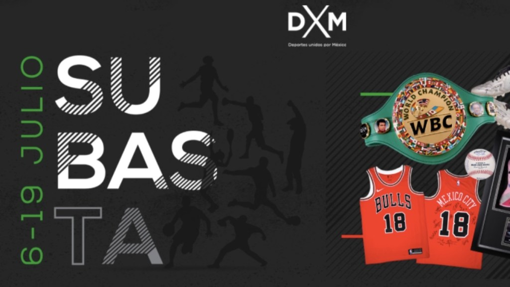 Deportes Unidos por México hará una subasta para apoyar a la afición mexicana