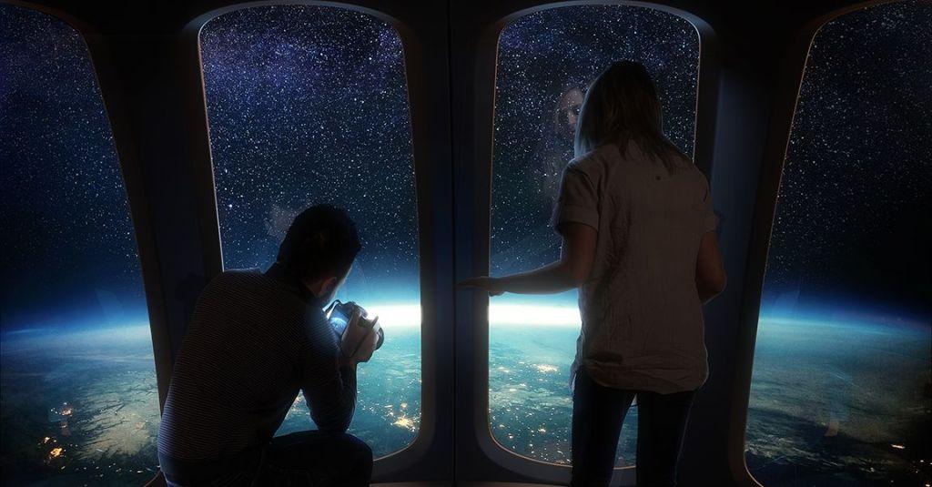 Los viajes turísticos al espacio con Space Perspective serán en globos tipo aerostáticos