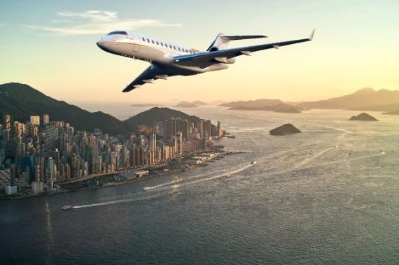 El Global 6500 convertirá tus viajes en auténticos paseos por las nubes