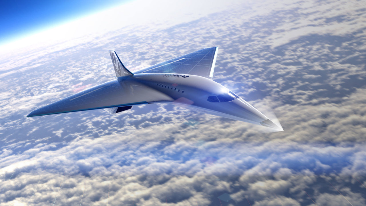 Rolls-Royce colabora con Virgin Galactic en el diseño de su avión supersónico Mach 3
