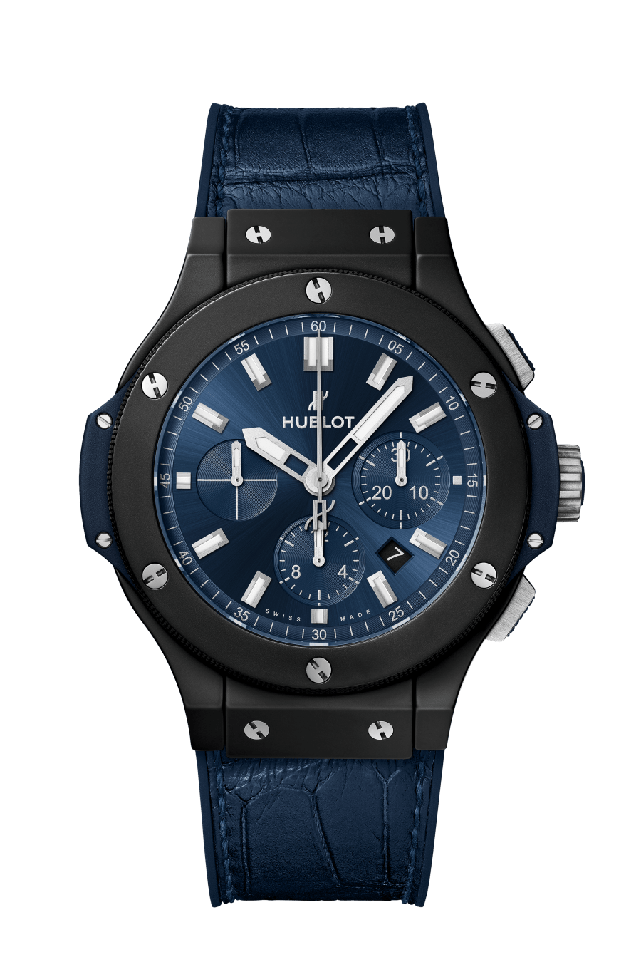 HUBLOT, BIG BANG CERAMIC BLUE