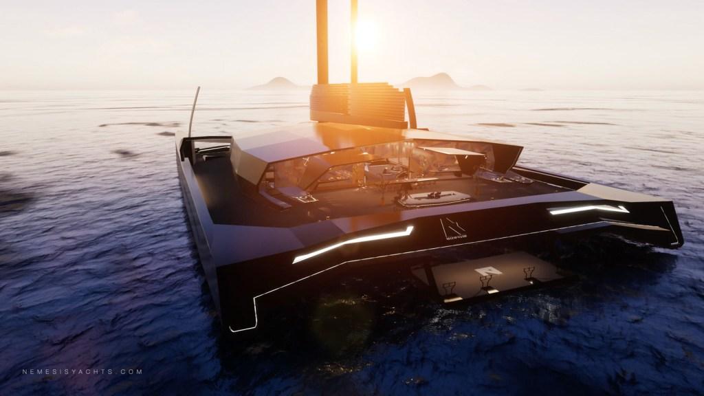 Nemesis One conquistará el mar a 50 nudos y a ti con su lujoso diseño
