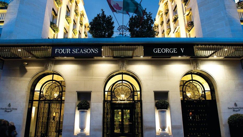 Clases de cocina en Paris desde el Four Seasons Hotel George V