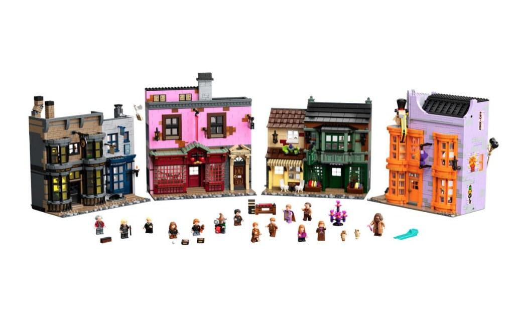 Vive la aventura de Harry Potter en 'callejón Diagon' con este Lego de 5,544 piezas