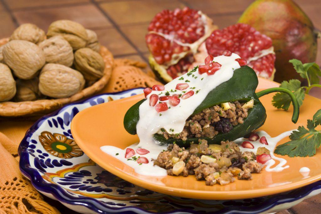 Los mejores chiles en nogada a domicilio, en la Ciudad de México