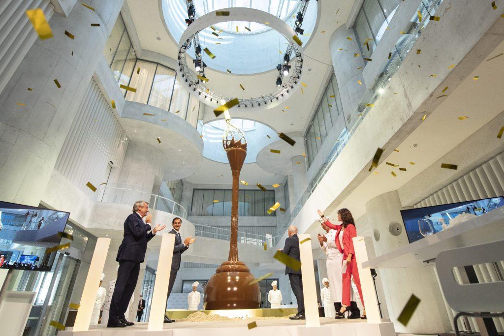 El museo de chocolate más grande del mundo está en Suiza y ha sido apadrinado por Federer