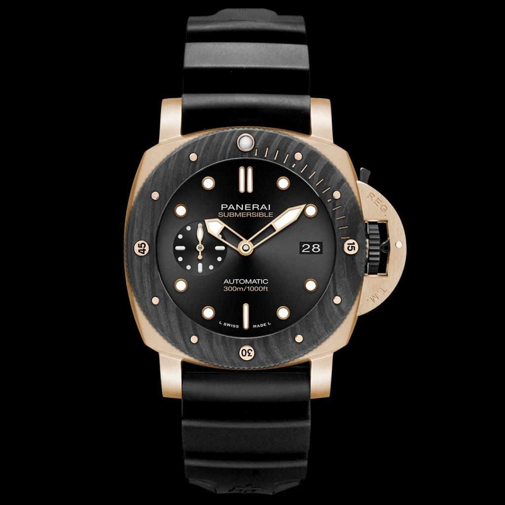 El reloj de buceo con estética experimental llega de la mano de Panerai