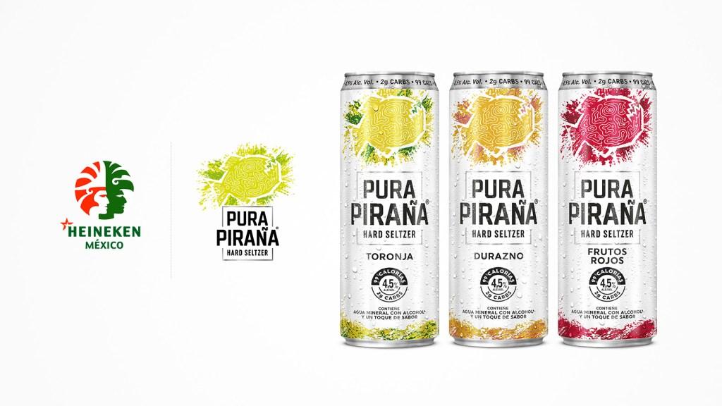 """¿Sabes qué son las bebidas hard seltzer? Prueba """"Pura Piraña"""" de Heineken y lo descubrirás"""