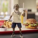 El rapero Travis Scott tiene su propia hamburguesa en McDonalds, ¿a qué sabrá?