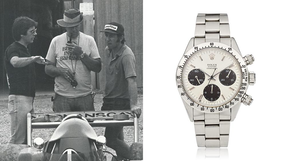 El Rolex Daytona de la leyenda de Le Mans, Carroll Smith, será subastado en Christie's
