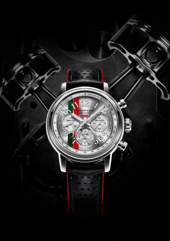 Nuestra pasión por las carreras cobra vida en esta edición limitada del Mille Miglia de Chopard