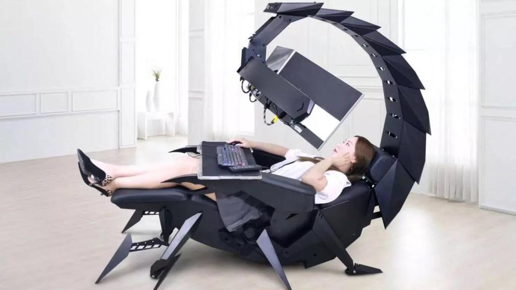Cluvens lanza Scorpion, la silla para gamers que parece haber salido de un videojuego