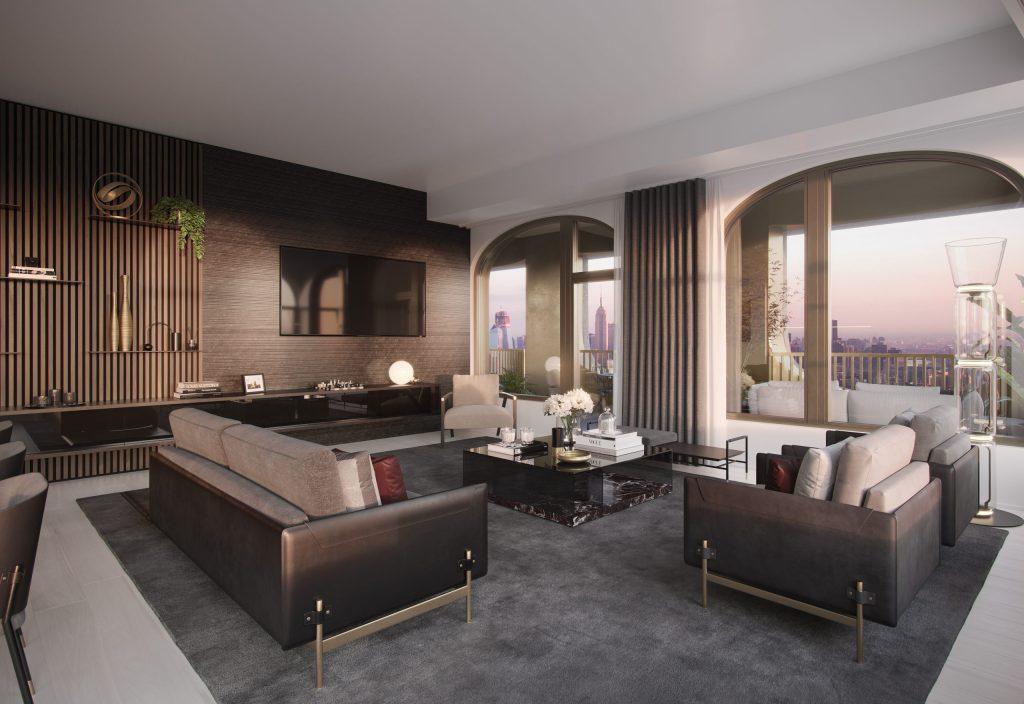 Aston Martin y Sir David Adjaye crearán 5 casas de lujo que casi tocarán el cielo de Nueva York