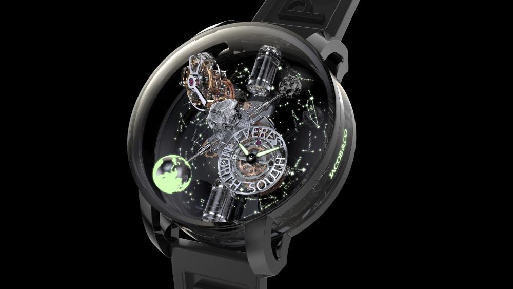 Hecho con roca del Himalaya, el nuevo reloj de Jacob & Co. incluye un viaje al Everest