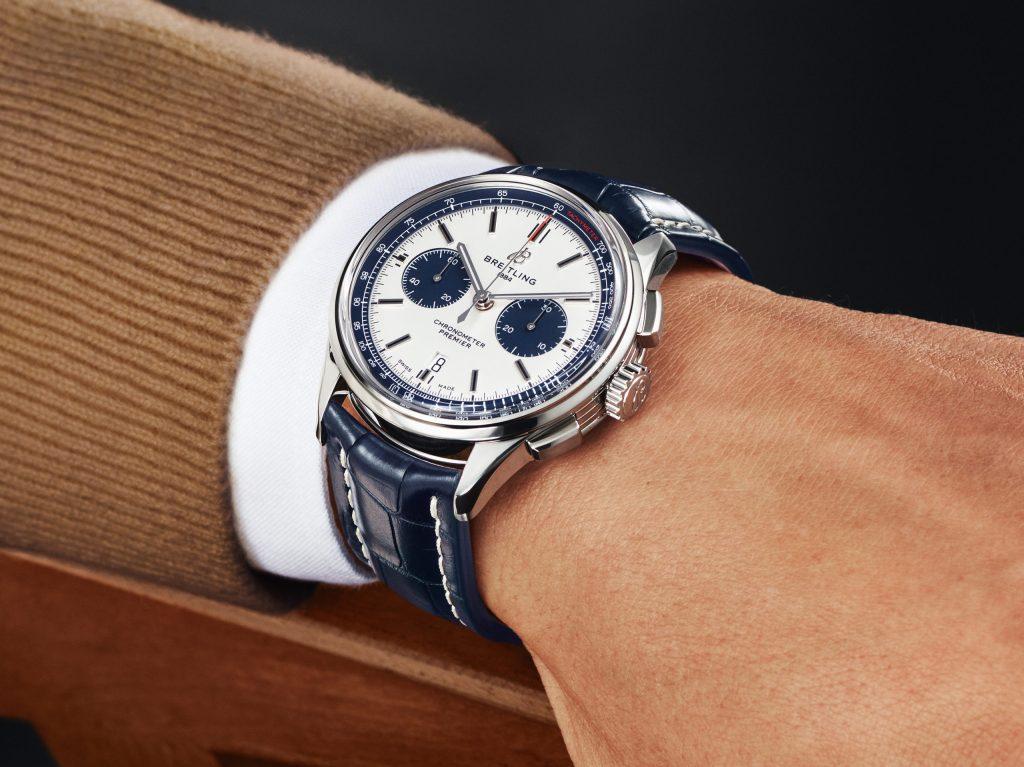 Esta es la nueva edición especial del Premier B01 Chronograph 42 de Breitling