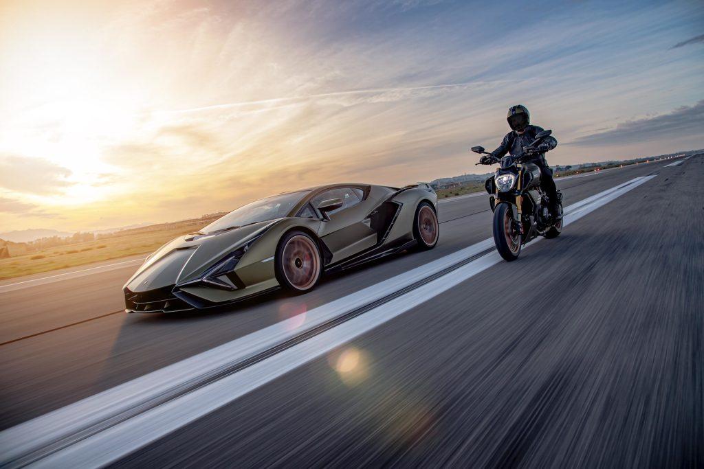 Ducati y Lamborghini lanzan la moto que soñaste, con gran potencia y un rugido inconfundible